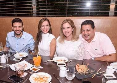 Neto Carletto(candidato a deputado estadual), a sua mãe Mariza Carletto, Mônica e Marcelo Sacramento