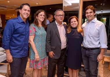 Thales de Melo Brito, Sandra Valente, Carlos Henrique Passos, Amélia Garcez, Claudio Cunha