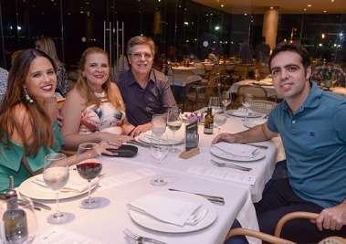 Gama Filho, Bia, Valéria e José Carlos Gama