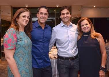 Sandra Valente Sande, Thales de Melo Brito, Cláudio Cunha e Amélia Barcez Amaral