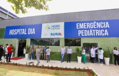 Hospital Dia inaugurado hoje (26) pelo governador Rui Costa