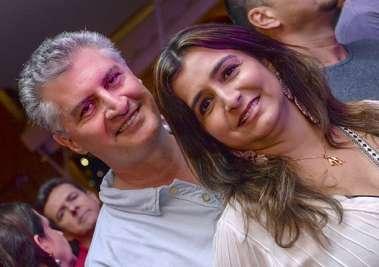 Chistiane e Mário Bruni em fotos de Valterio Pacheco