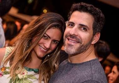 Camila Cajazeiras e Leo Mendonça Santos