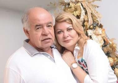 Mary e Prof. José Nilton Carvalho em fotos de Valterio Pacheco