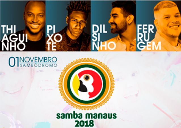 Samba Manaus: o gigante voltou recheado de novidades e com oito atrações.