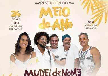 Ju Moraes se apresenta para público do Réveillon do Meio do Ano  A cantora sobe ao palco do Pestana Convento do Carmo antes do show da