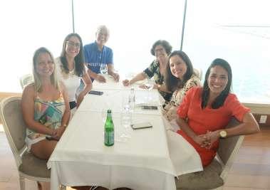 Terezinha e Luiz Nascimento comemoraram os seus 51 anos de casados almoçando no Chez Bernard com a fámilia