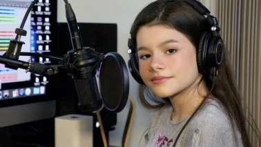 Ex-The Voice Kids, Giulia Levita, sensibilizada com a dificuldade agravada pela Pandemia do COVID19